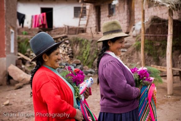 Arrival at Ccaccaccollo homestay, Peru