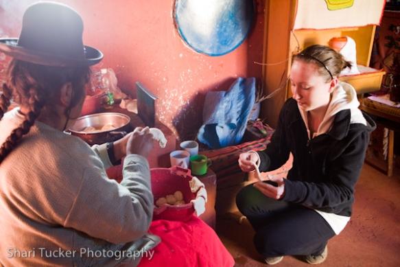 Homestay, Luquina Chico, Lake Titicaca