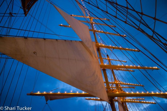 Royal Clipper Sail-Away from Venice